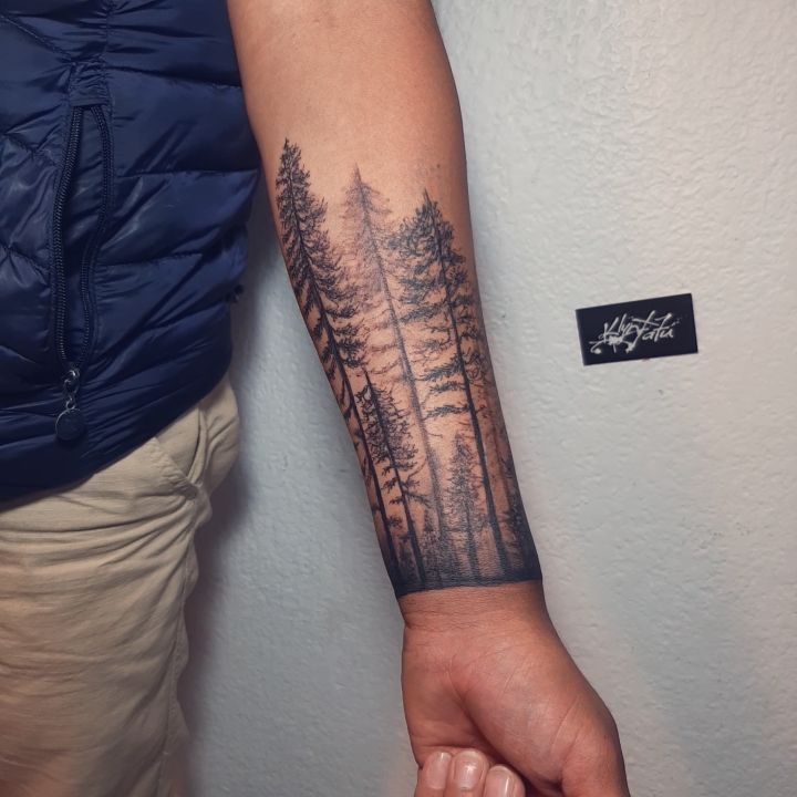 🌲 #tatuaje #tattoo #tatuajes #tattoos #forest #foresttattoo #klyntguadarrama #klyntantú #cdmxtattoo #madeinkméxico #blackworktattoo #blackwork #blacktattoo #tattooworld