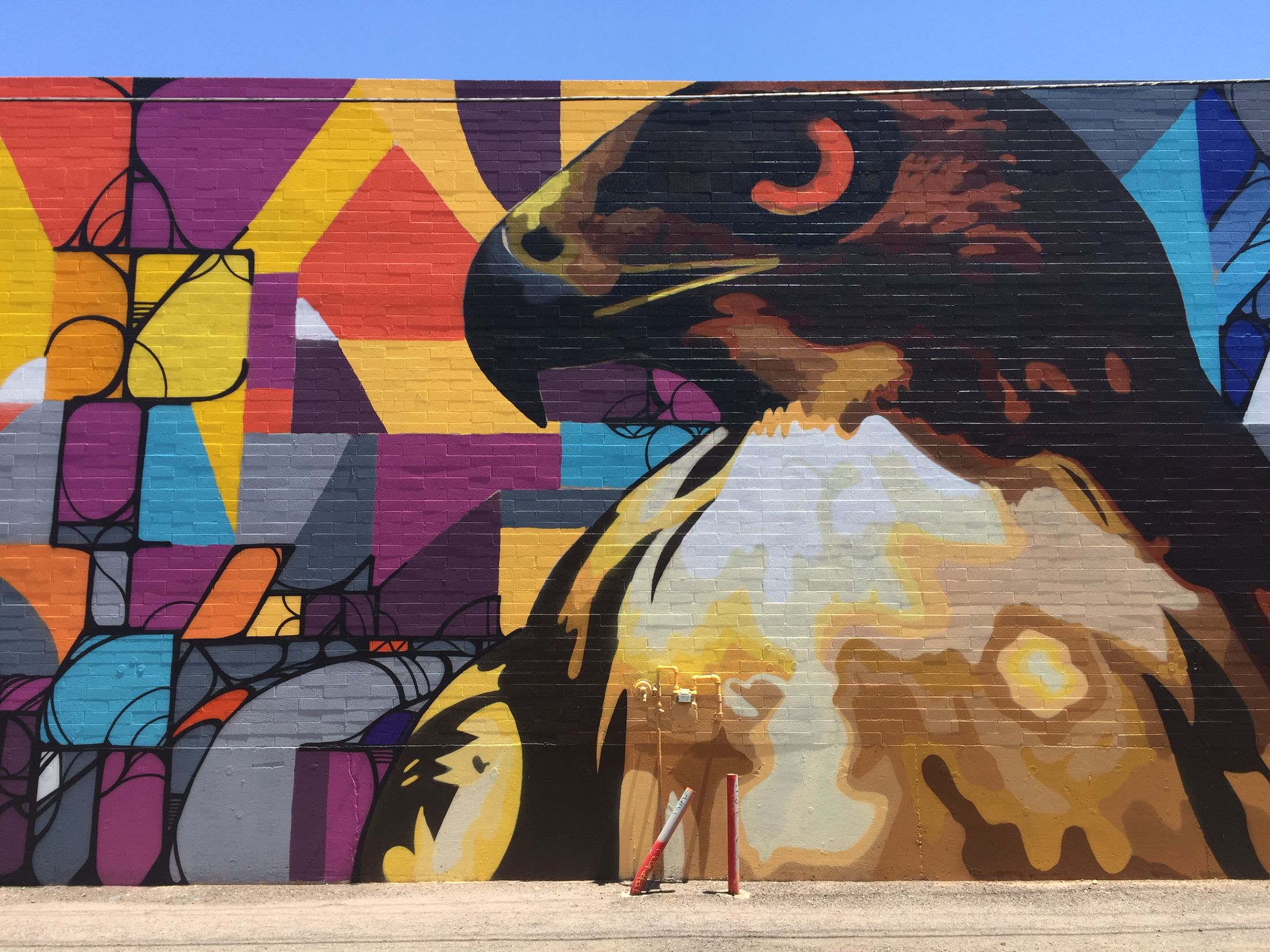 Melrose District Phoenix Az Wallart Urban Art Mural Urban Art Street Art Wall Art