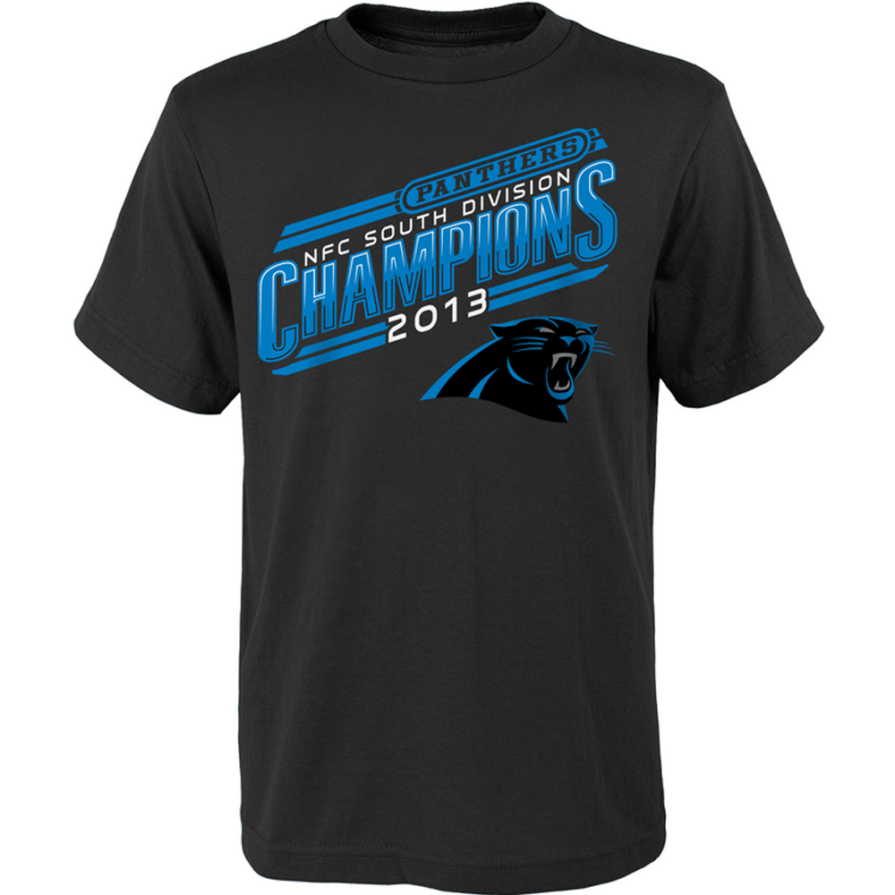 panthers nfc south champions shirt