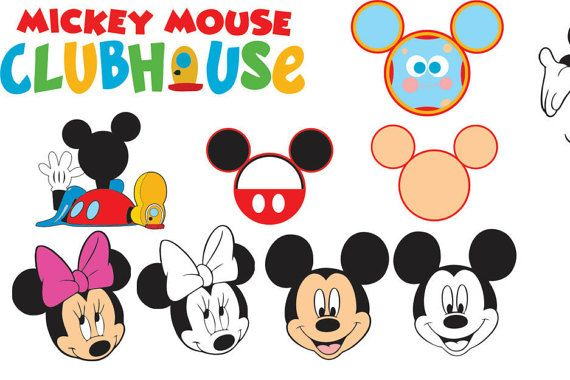 Mickey Mouse Clubhouse Svg For Cricut Mickey Mouse Clubhouse