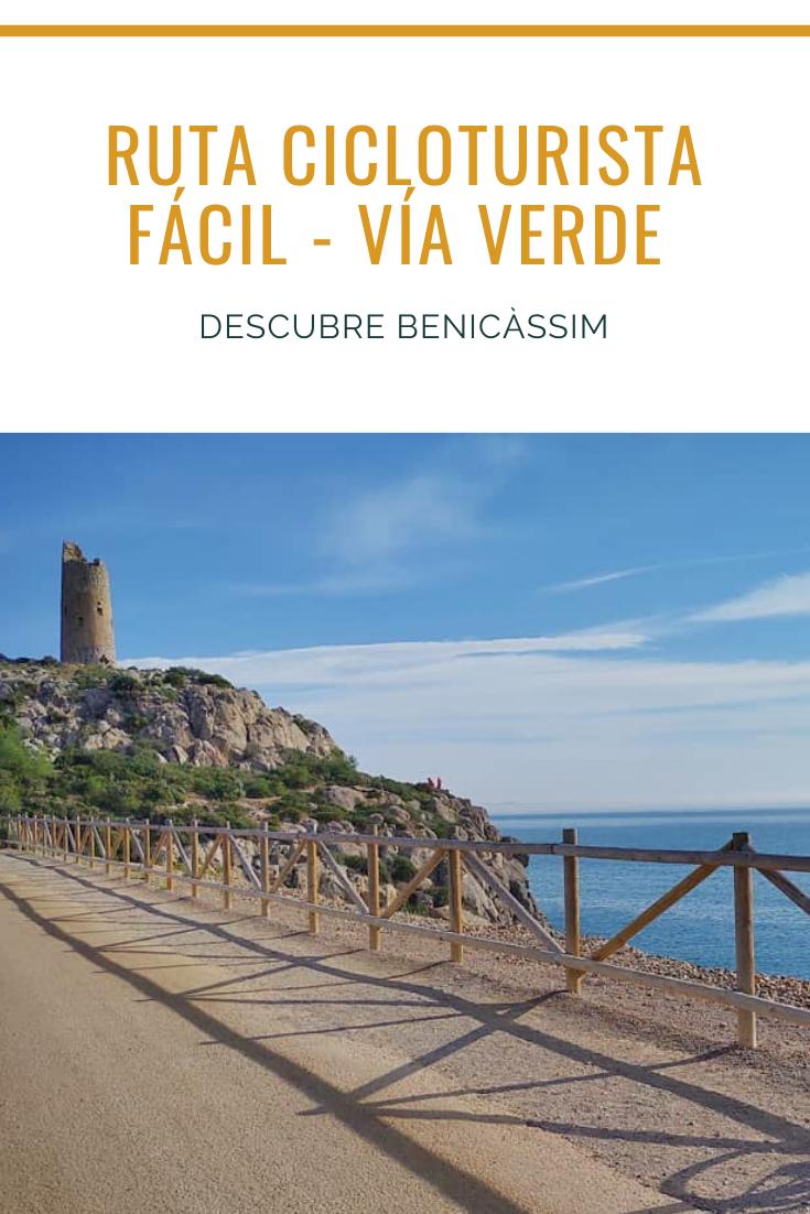 Ruta Cicloturista Y De Senderismo Fácil Para Toda La Familia Al Lado Del Mar Mediterráneo Vía Verde Del Mar Entre Benicàssi En 2020 Rutas De Senderismo Turismo Rutas