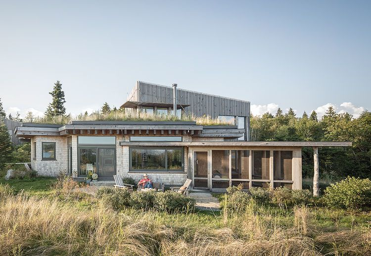 Great Architect Will Winkelman And Landscape Architect Todd Richardson  Collaborated With A Client, JT Bullitt, To Design A House That Blends Into  Its Surroundings ...