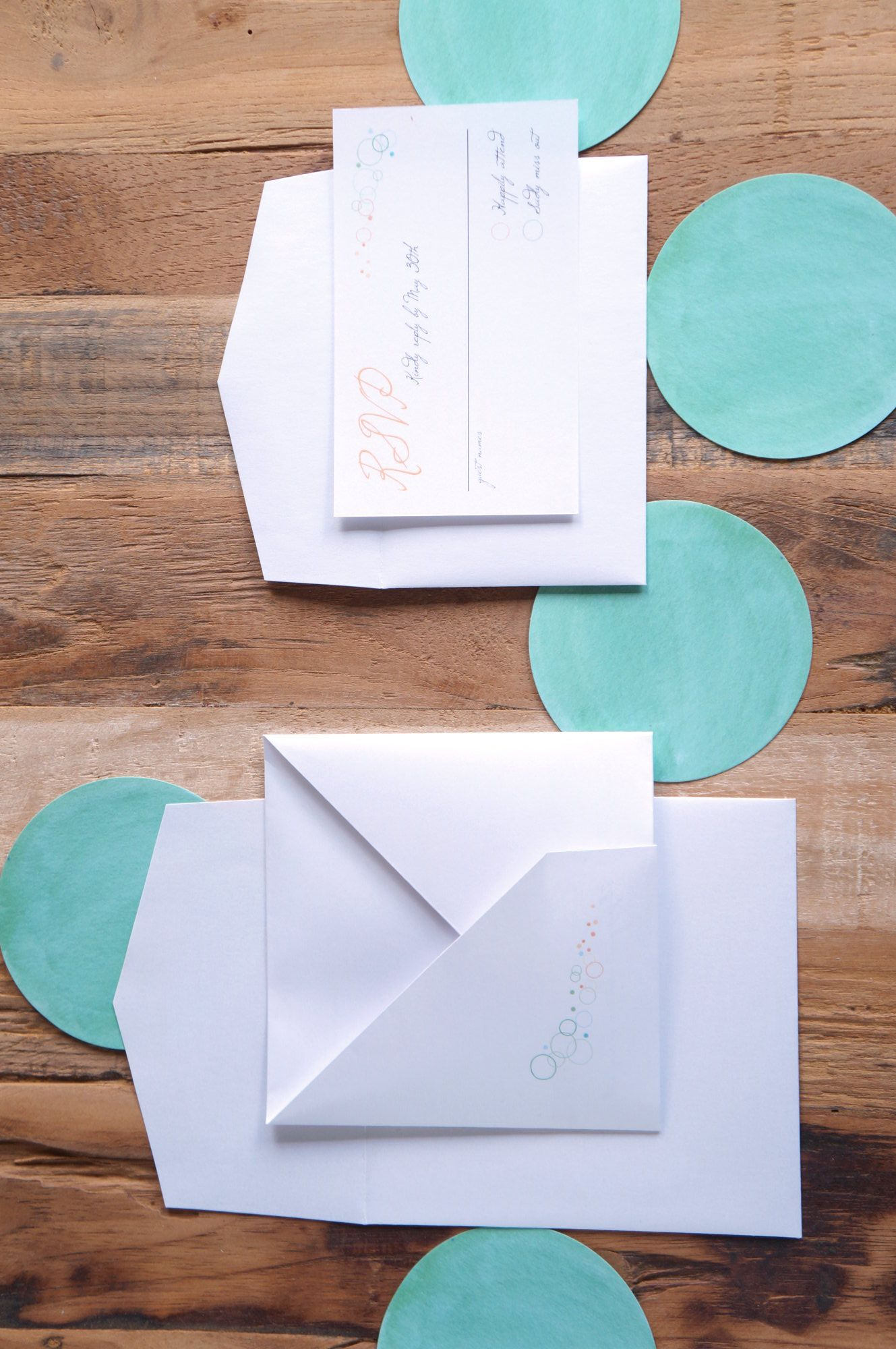 Hanabi - origami-inspired wedding invitation by A Tactile Perception.