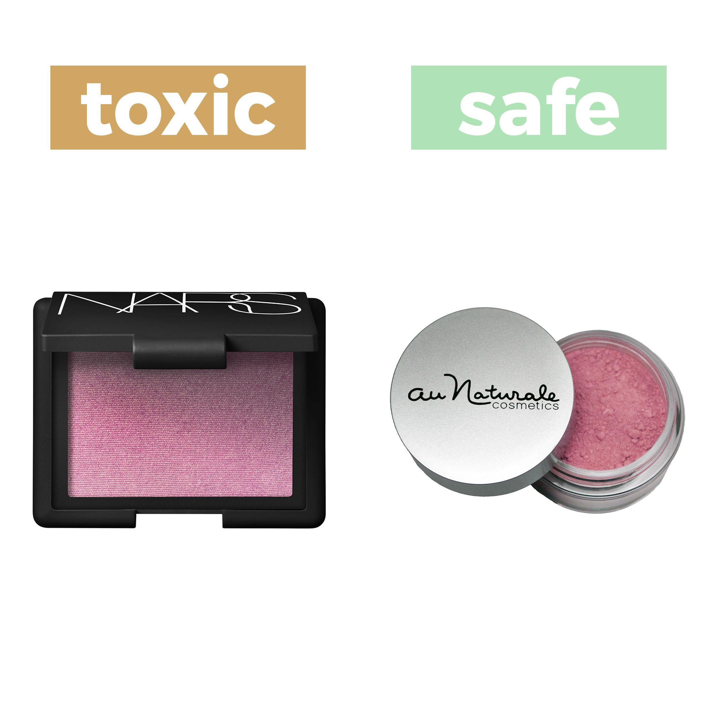 NonToxic Product & Food Swaps Blush, Sephora, Natural