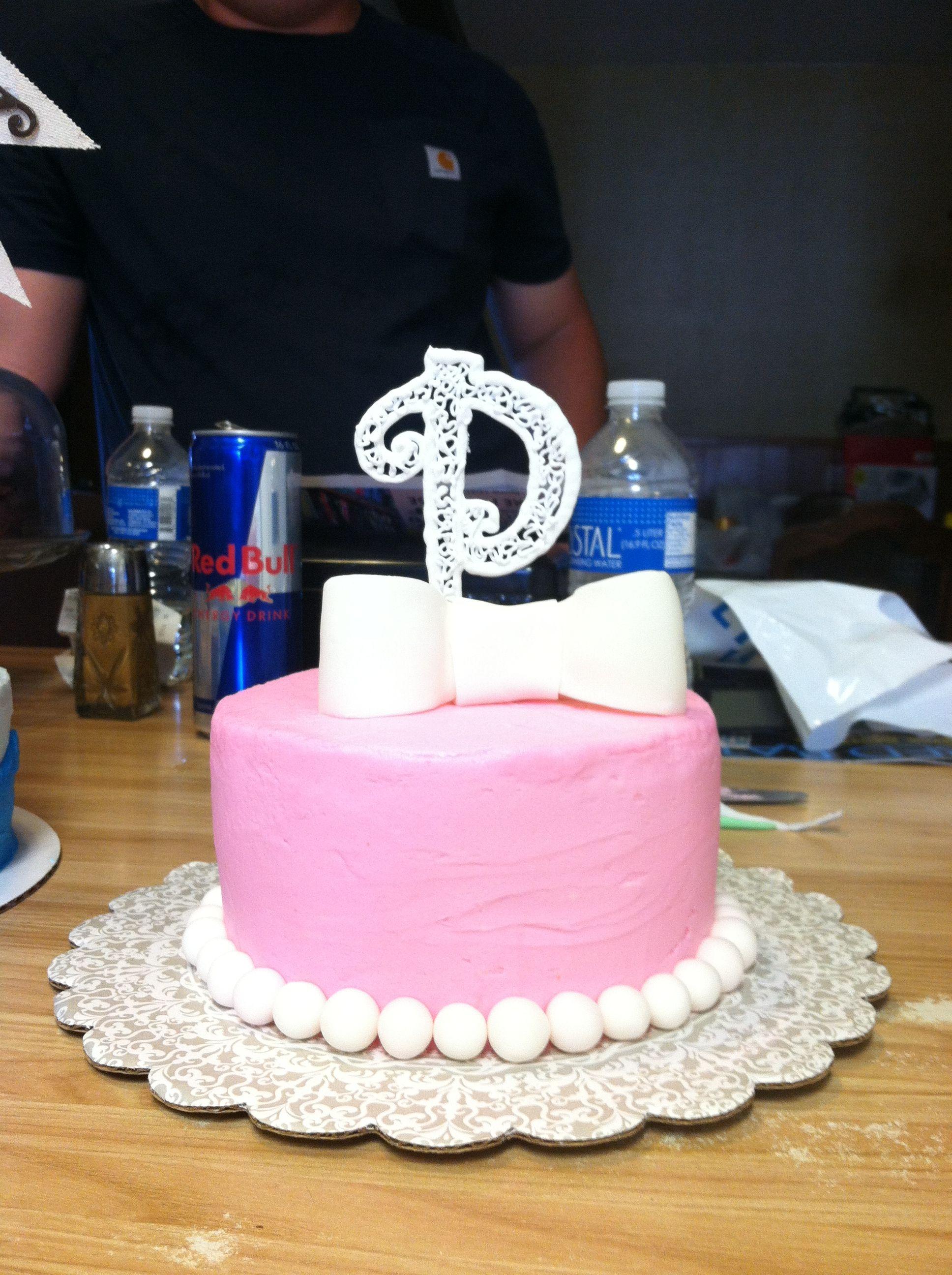 Little Girls 1st Birthday Cake Cakes Pinterest Birthday Cakes