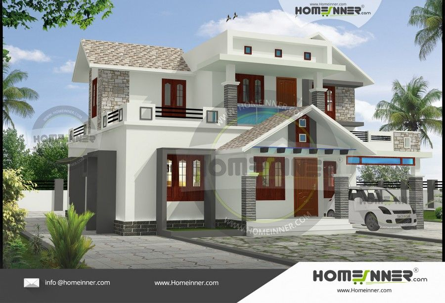 bedroom duplex house front elevation designs also hind in exterior pinterest rh