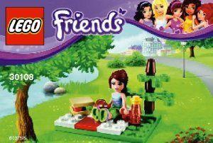 Amazon.com: Lego Friends Summer Picnic Bag Set 30108: Toys & Games  Ila