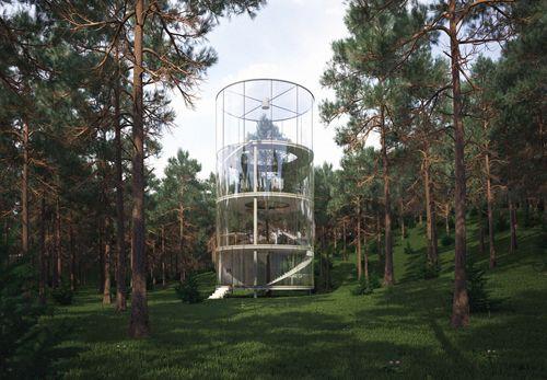 Glass House A.Masow Design Studio