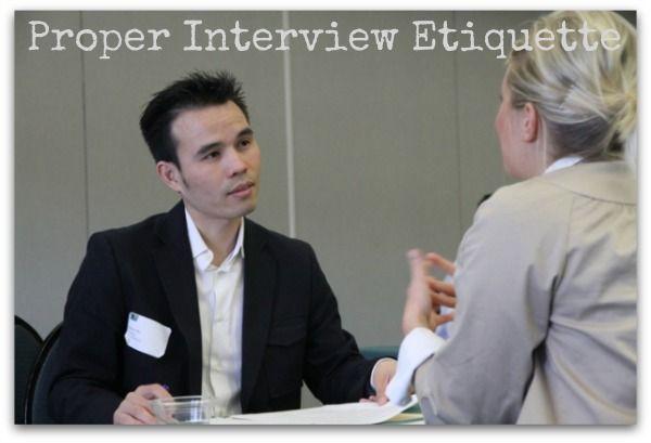 Proper Interview Tips Interview Tips Pinterest Job interviews