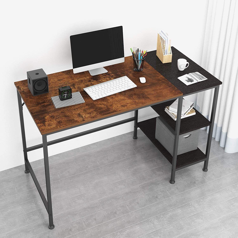 Top 10 Best Desks For Students Thetarnishedjewelblog In 2020 Computer Desk With Shelves Desk Shelves Simple Office Desk