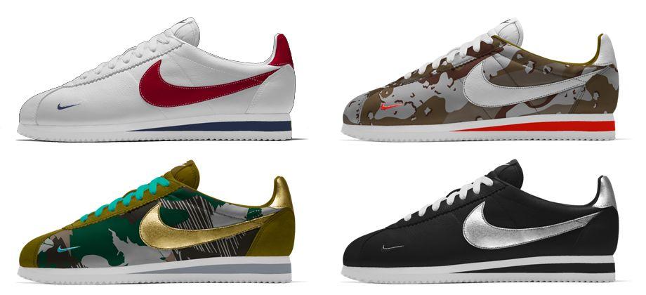 half off 6ea1e 6cfc5 ... ireland 10 inspirations pour la nike cortez id camo mini swoosh  sneakers madame 161b5 03790