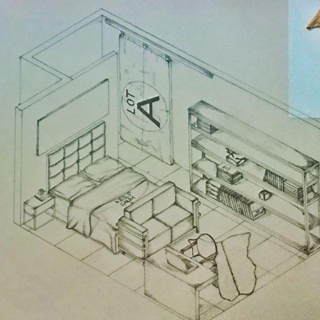 Meu projeto antes de pintar.... #industrialdecor #quartodossonhos