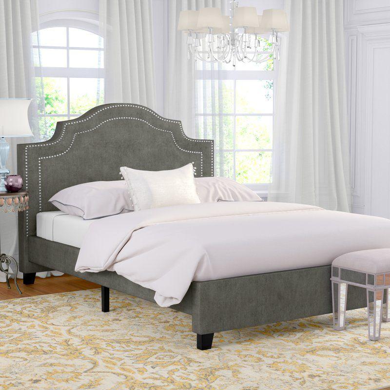 Avanley upholstered standard bed upholstered platform