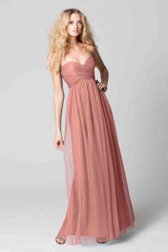 Dusty Rose Pink Bridesmaid Dresses | Pink Bridesmaid Dresses | Pinterest