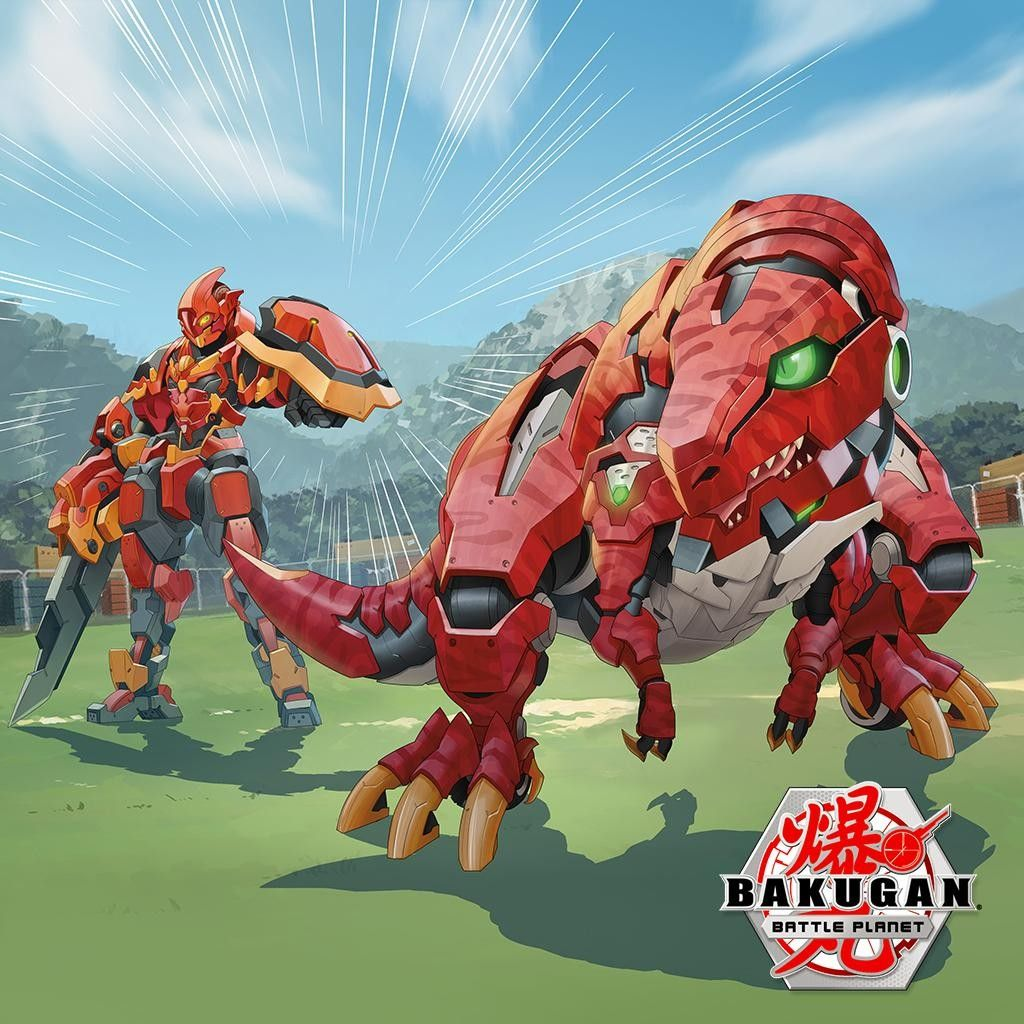 Pyrus Trox And Pyrus Cyndeous With Images Bakugan Battle
