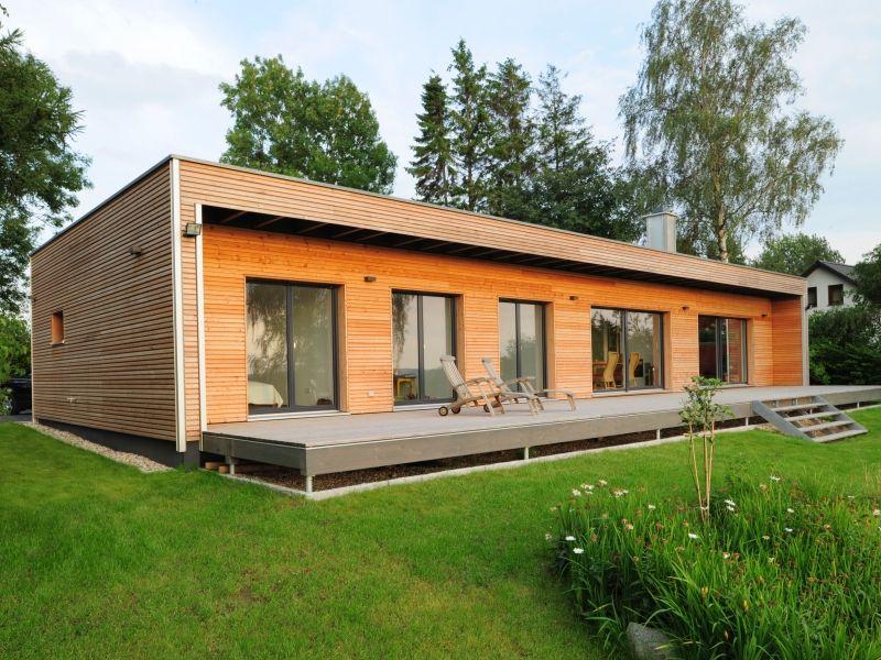 Fertighaus Von Baufritz Bungalow Modern
