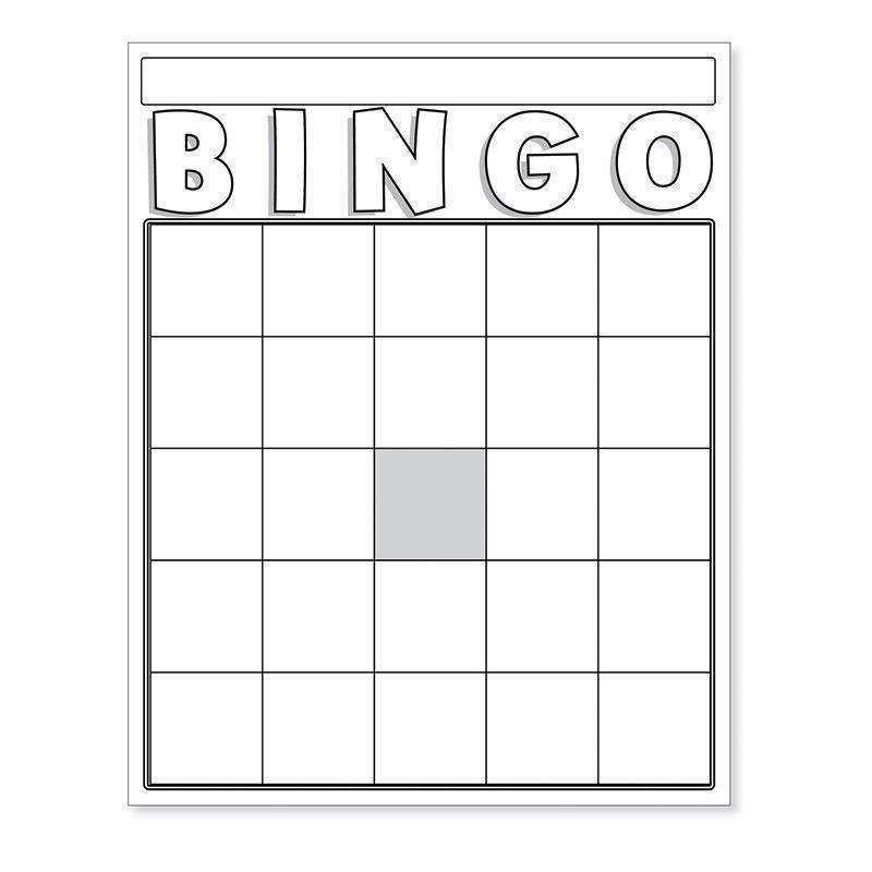 Blank Bingo Cards White Bingo Card Template Bingo Cards Printable Blank Bingo Cards