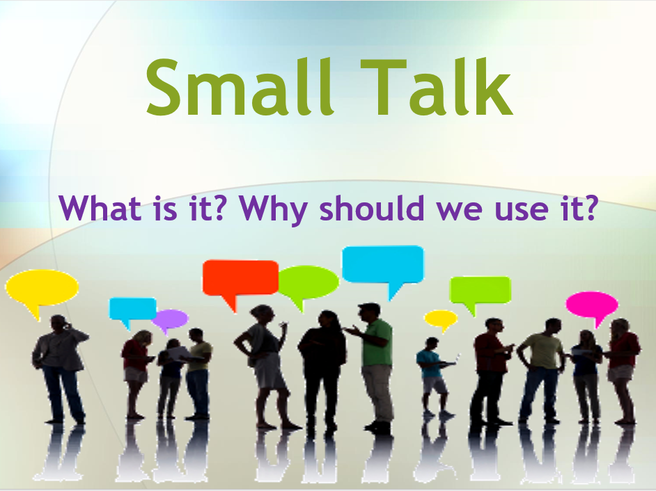 Small Talk for ESOL and Workplace - Powerpoint Interactive Training