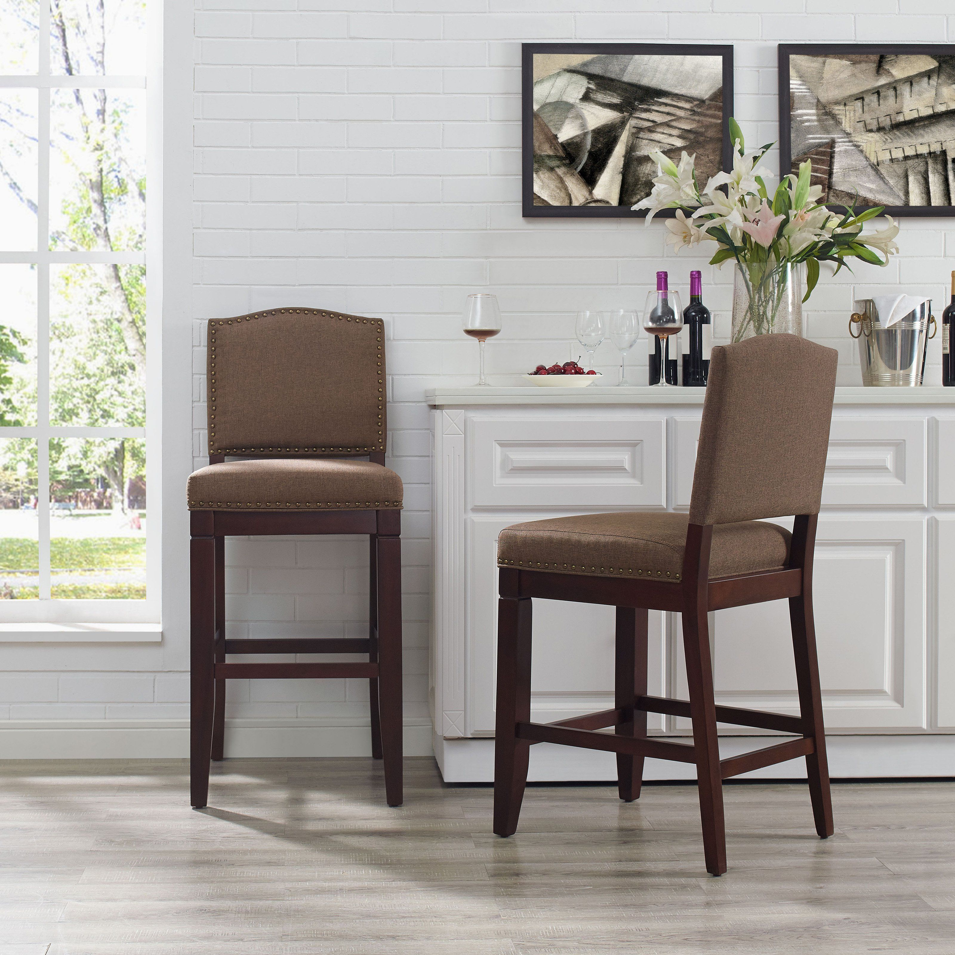 Upholstered counter stool cf521926es bo