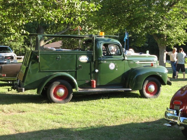 Vintage Ford Late 1940 S Service Truck Trucks