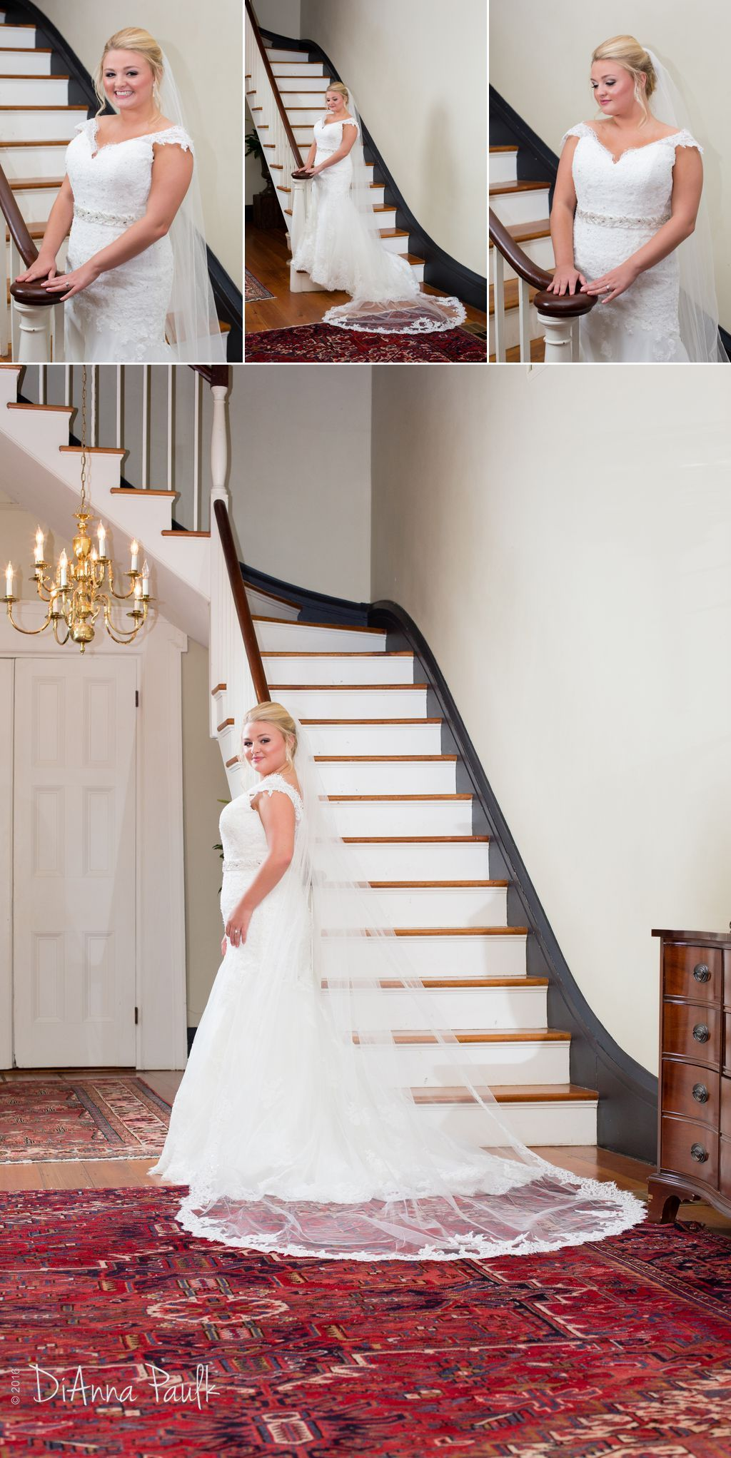Bridal Portraits At The Elms Of Coosada Photography By Dianna Paulk A Certified Professional