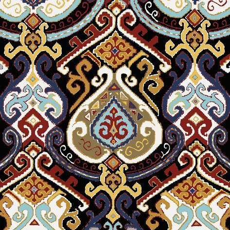 size: 24x24in Giclee Print: Kilim Ordu by Mark Chandon : This exceptional art print was made using a sophisticated giclée printing process, which deliver pure, rich color and remarkable detail.