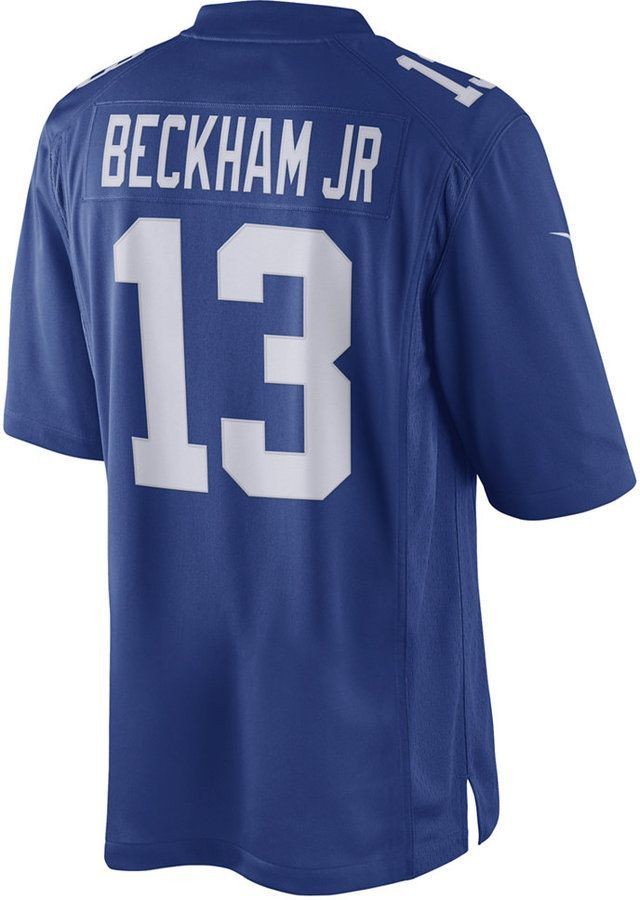 Nike Men s Odell Beckham Jr. New York Giants Limited Jersey ... 0b209d13c