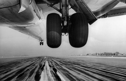 Airplane Photography Black And White Perspective Graphic Design Creative Visual Inspiration