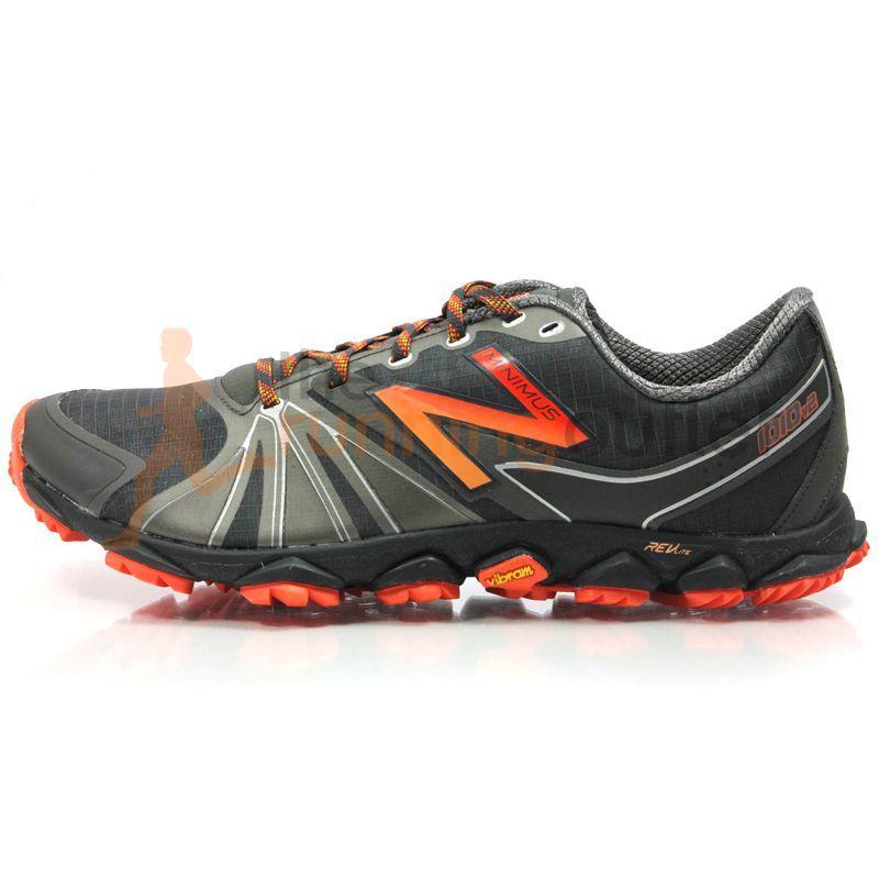 New Balance Men's Minimus MT1010V2 Trail Shoe AW13: Black/Orange