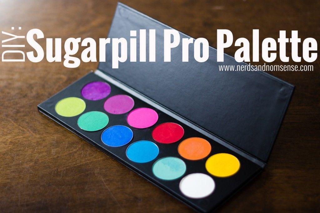 AWESOME!  DIY: Sugarpill Cosmetics Pro Palette
