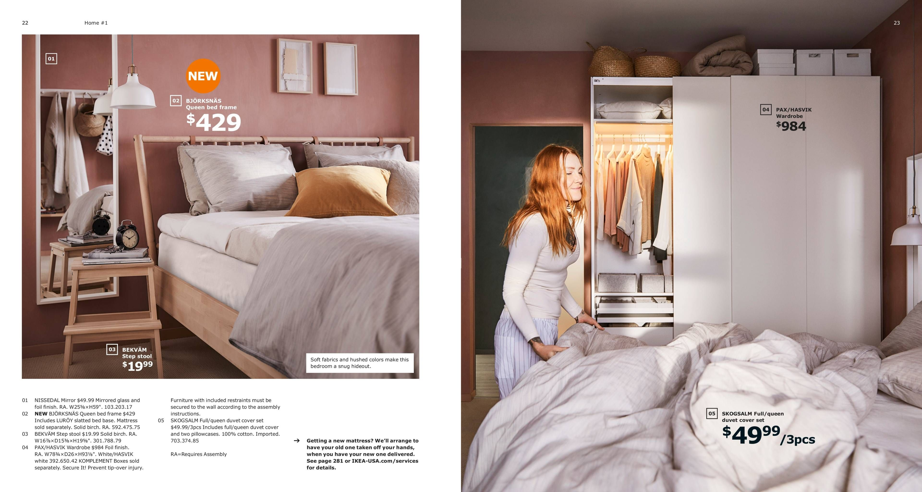 Home 1 Haven In The City 2019 Ikea Catalog Bedroom