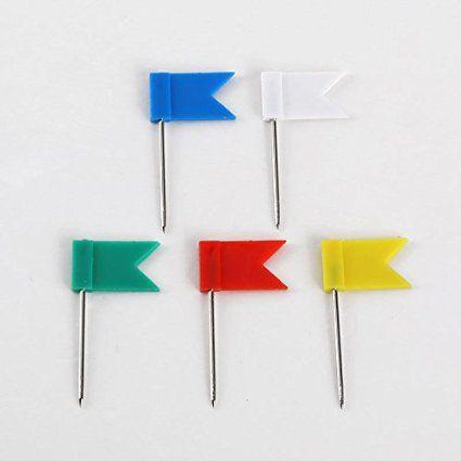 Robot Check Pin Map Flag Color