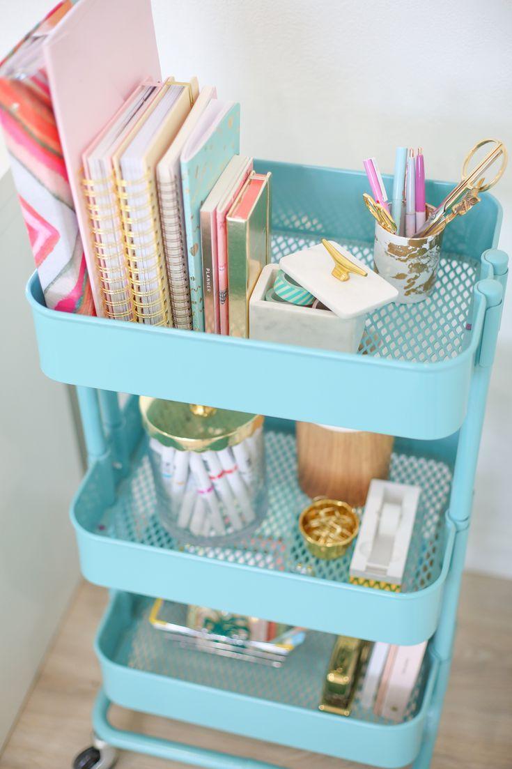 Ikea Dorm Room Ideas: 3 Ways To Use Your IKEA Raskog Cart