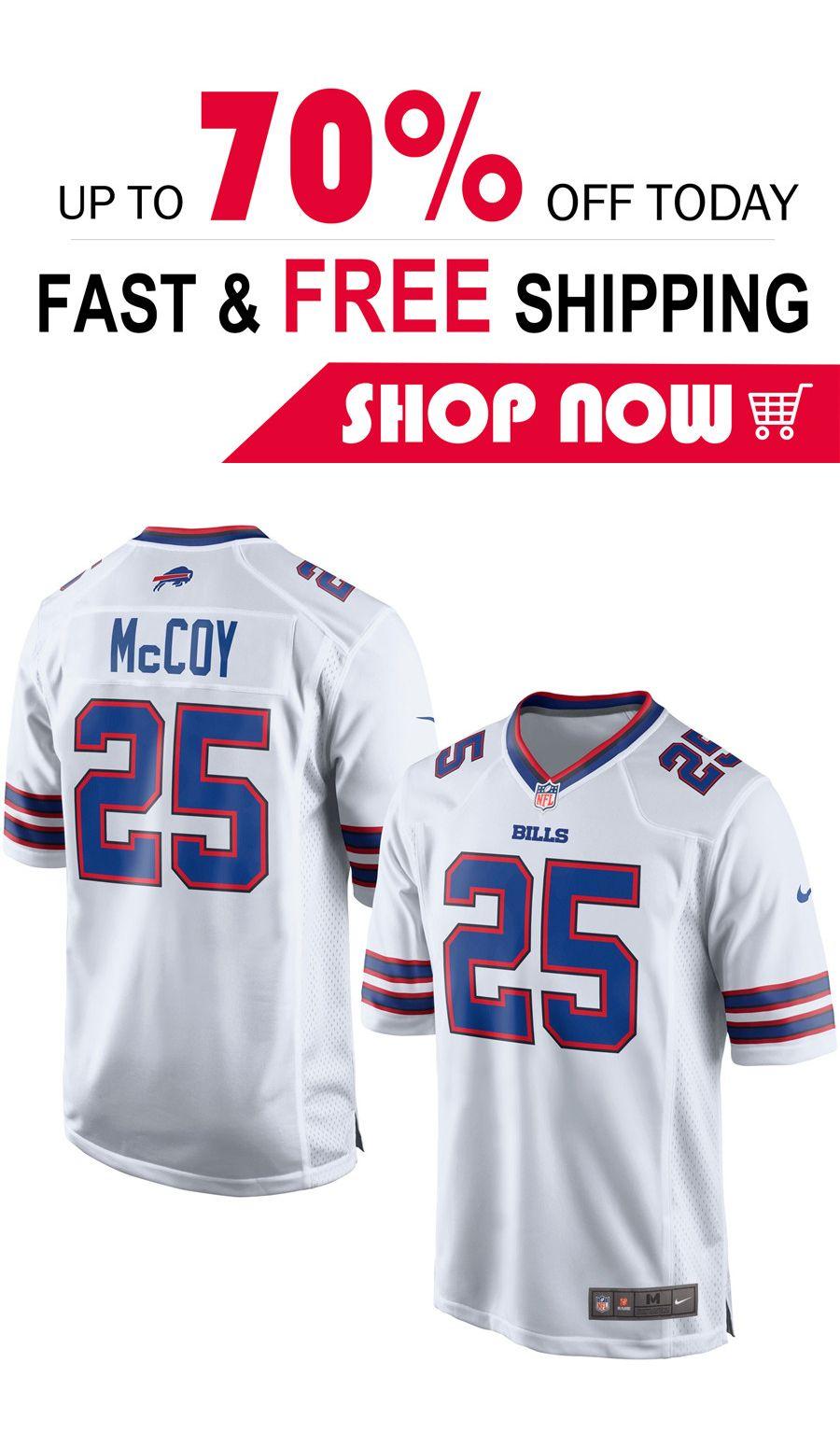 detailed look b09c2 4f970 LeSean McCoy Buffalo Bills football Game jersey | Buffalo ...