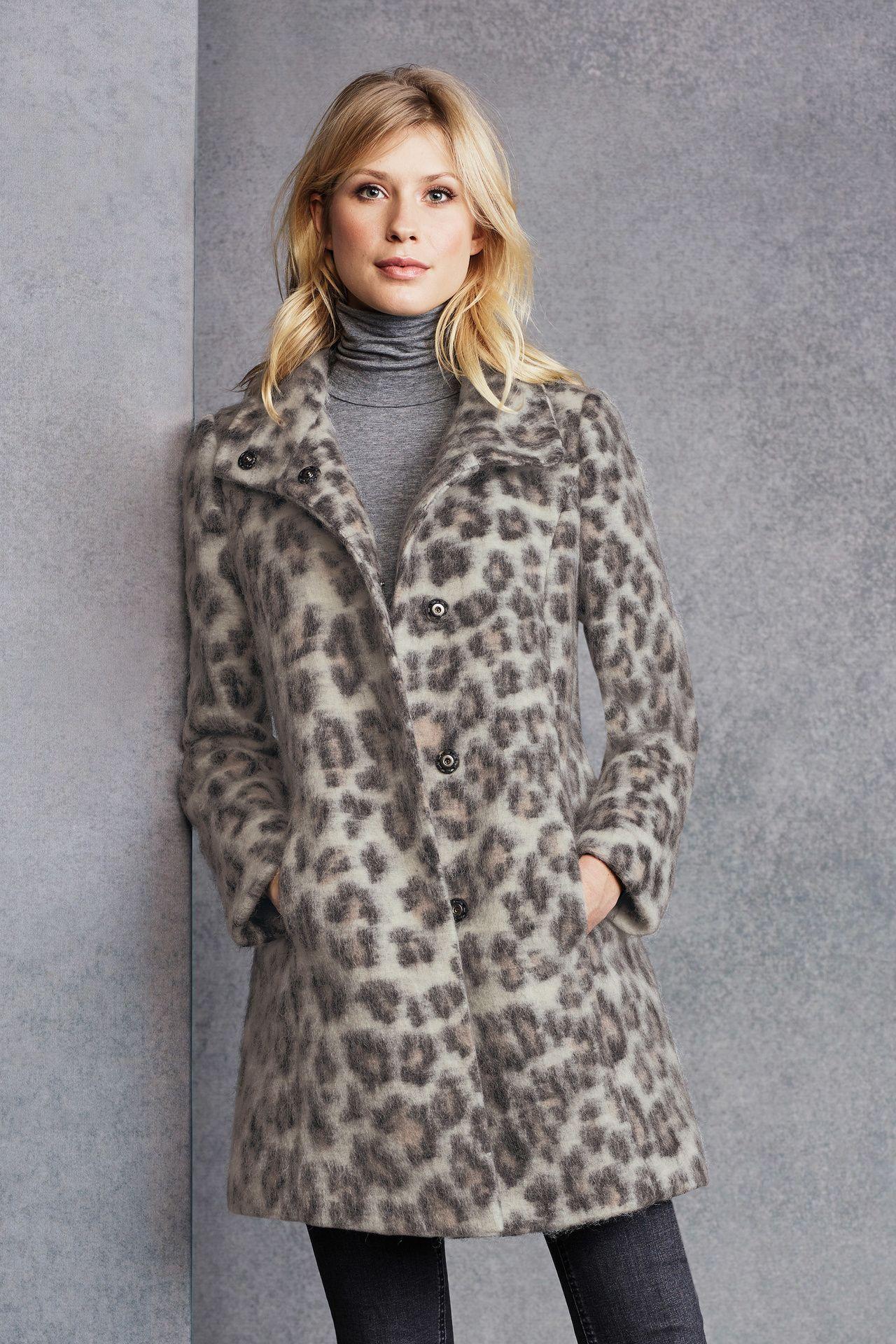 Winterjas Tijgerprint.Jas Met Panterprint Fw17 18 Panter Leopard Print Fur Coat