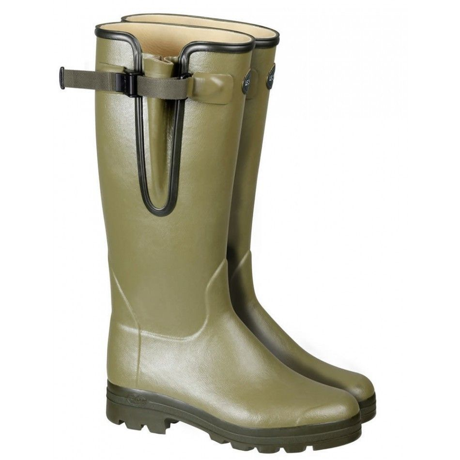 d60aa2c37e0 Le Chameau Vierzon Leather Women Boots Olive Green | Things to get ...
