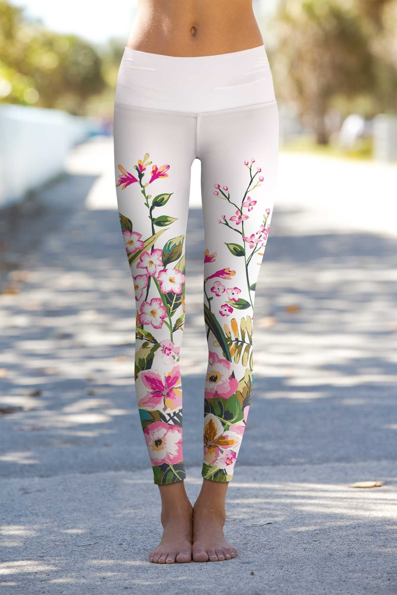 2b4e3971cefd These eco-friendly printed performance high waisted leggings are made from  the highest quality, most opaque, soft stretch fabric with excellent shape  ...