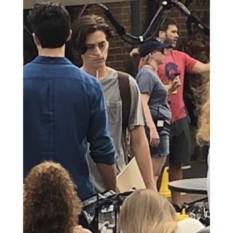 Cole On The Set Of Five Feet Apart #riverdalecolesprouse