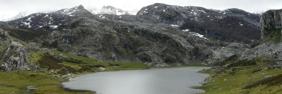 Asturias, España, naturaleza, lagos