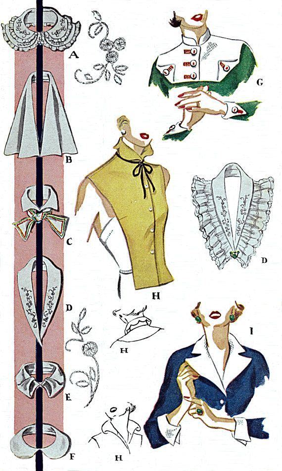 1950 Ladies Cuffs Collars and Vestee 12 by TheGrannySquared   xiuz ...