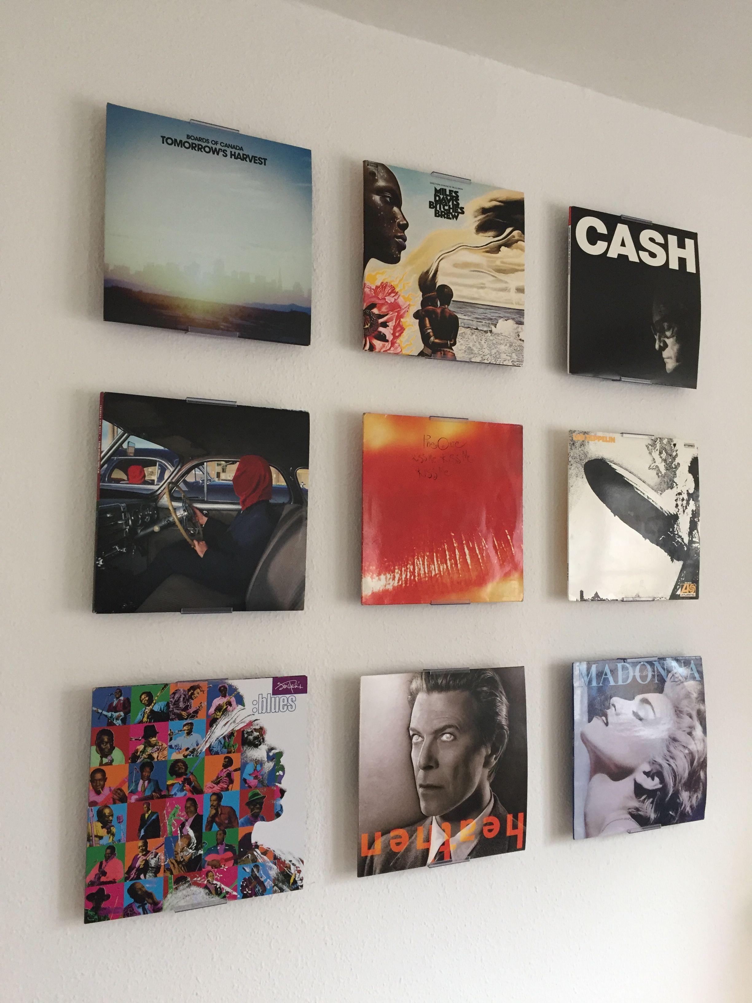 Schallplatten Deko Ideen