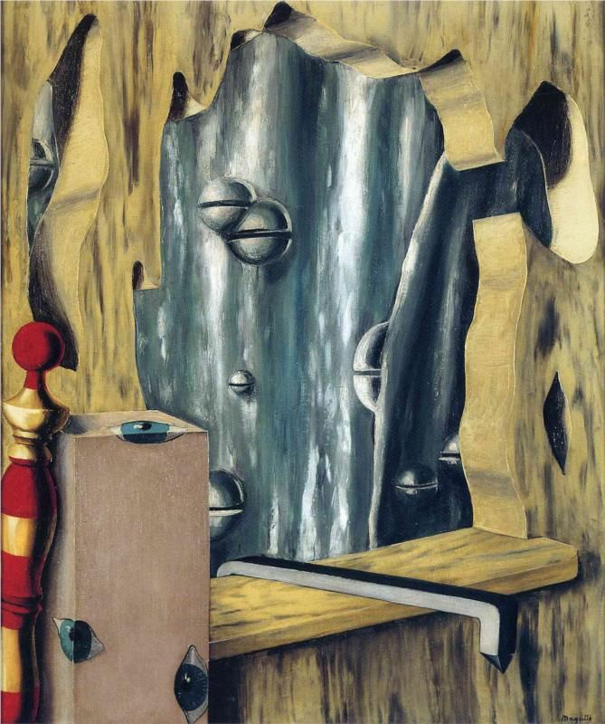 "René Magritte, ""The Silver"", Gap 1926"