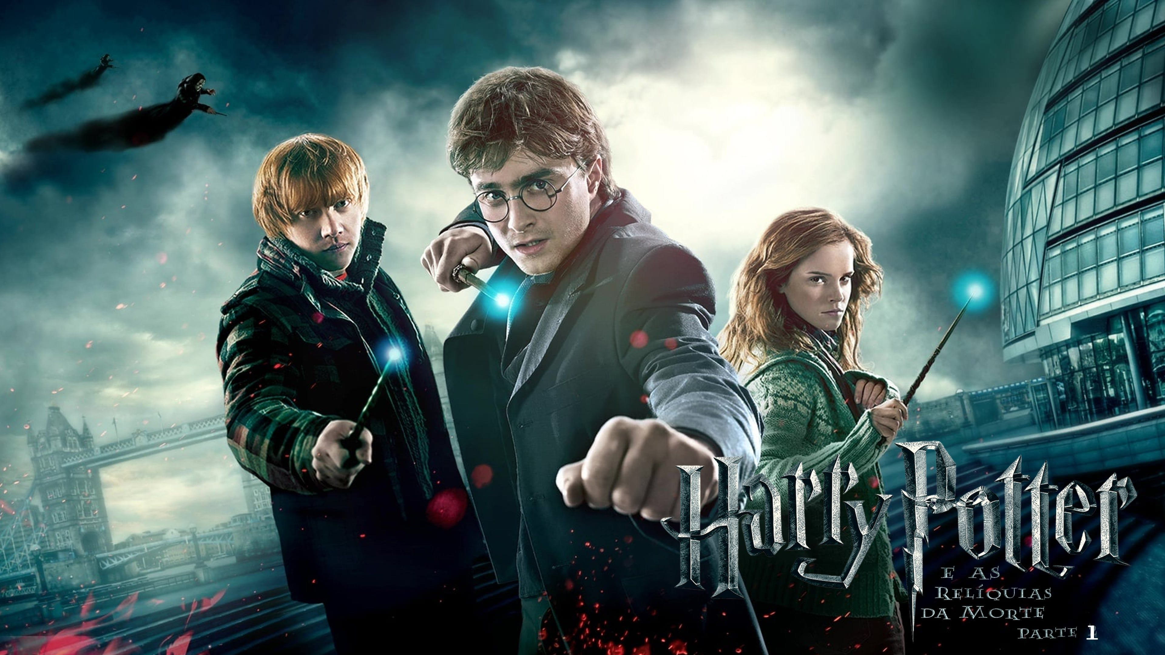 Primera Parte De La Adaptacion Al Cine Del Ultimo Libro De La Saga Harry Potter Harry Potter Y Las R In 2020 Harry Potter Harry Potter Movie Posters Ron And Hermione