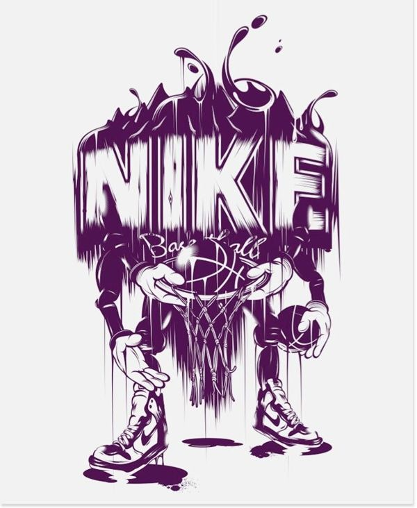 Nike by Yup Visual Art Studio, via Behance