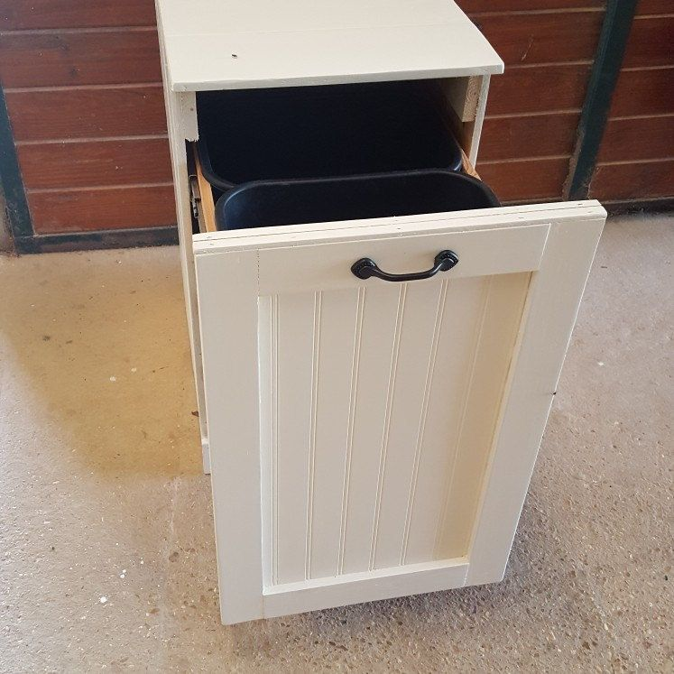 Pull Out Trash Cabinet Living Room Kitchen Trash Bins Trash Cans #trash #can #for #living #room