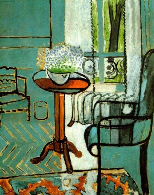 Henri Matisse: The Window, 1916. Detroit Institute of Arts.