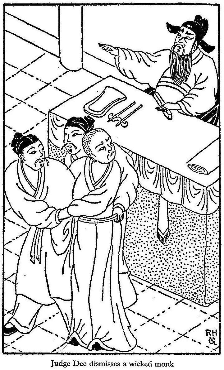 judge dee china China, 7th century on their way to a provincial center judge dee and his three wives spend the night at a taoist monastery soon the judge discovers that the.