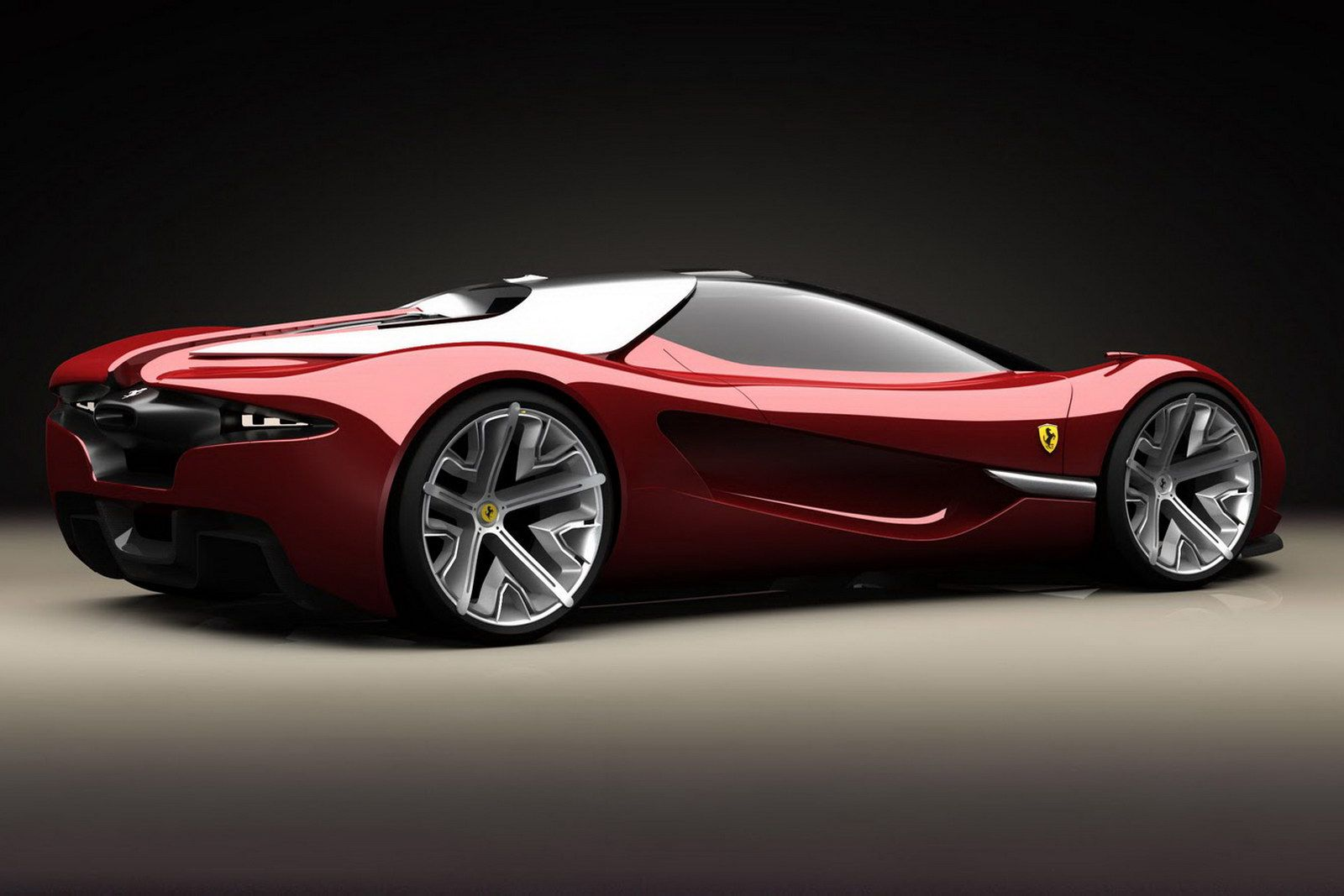 Ferrari Concept Car Concept Cars Supercars Concept Ferrari World