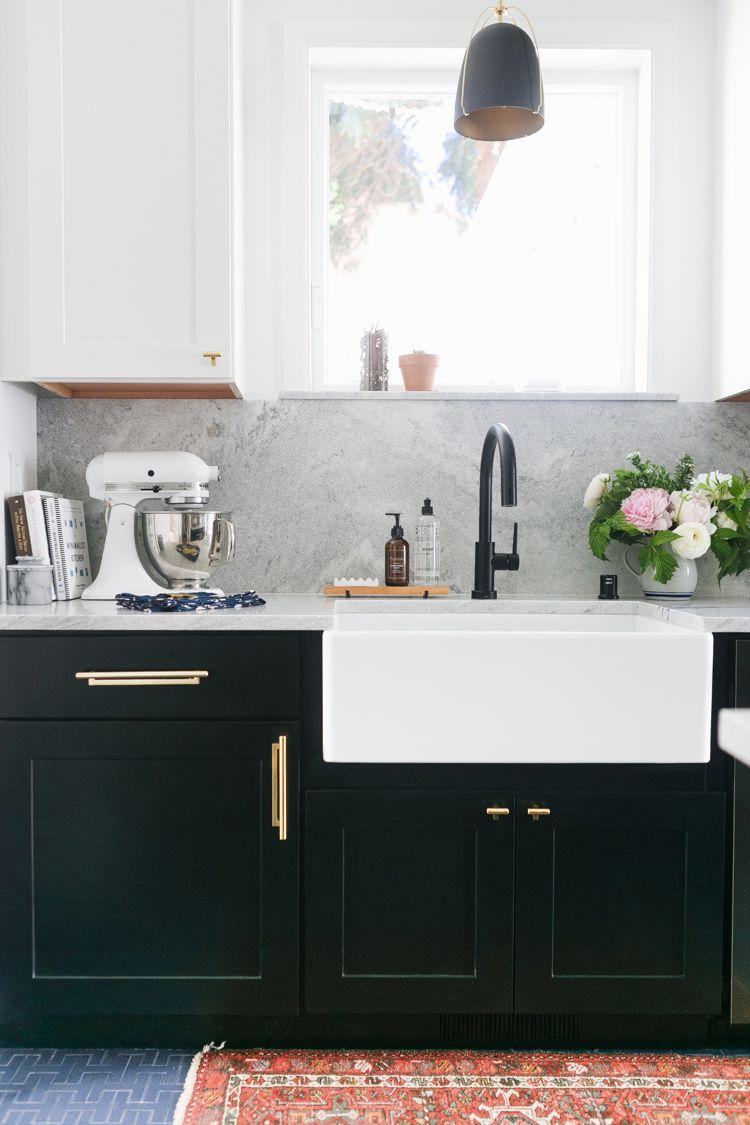 Our Tuxedo Kitchen Renovation Reveal Jojotastic Kitchen Remodel Small Kitchen Design Kitchen Remodel