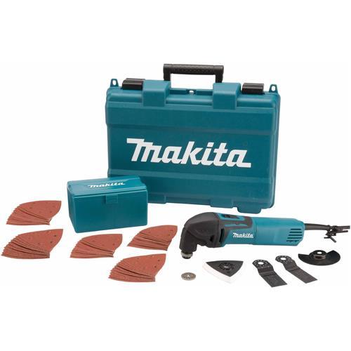 Makita Tm3000cx4 320w Multi Cutter Kit With Images Makita Power Tools Makita Tool Kit